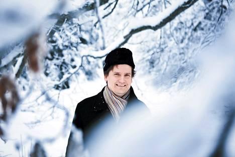 Muusikko ja säveltäjä Olli Mustonen Hausjärvellä.