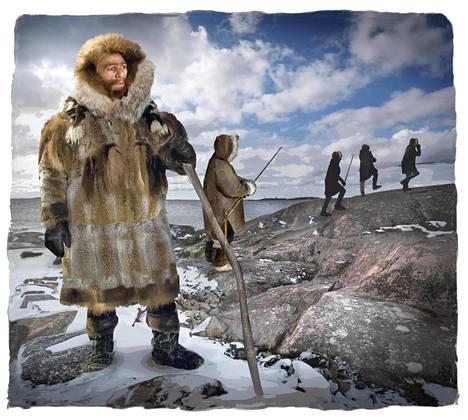 Pohjola asutettiin jääkauden jälkeen suurten maaeläinten perässä.