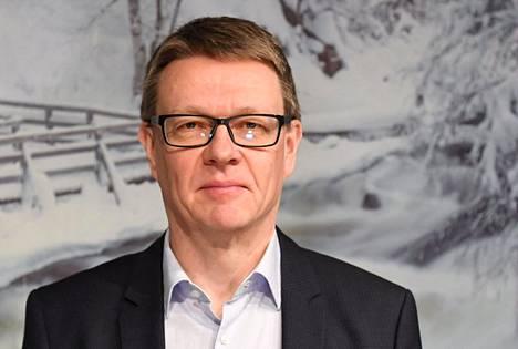 Matkailu- ja ravintolapalvelut ry:n (Mara) toimitusjohtaja Timo Lappi Helsingissä 12. tammikuuta.