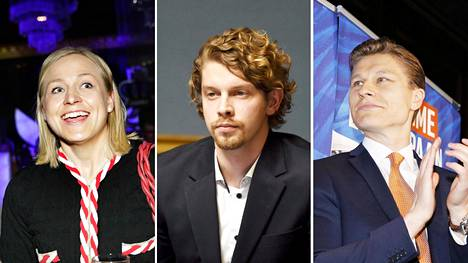 Kokoomuksen Elina Lepomäki kertoo käyttäneensä rahaa vaalikamppailuun 116 000 euroa, kokoomuksen Heikki Vestman  114 000 euroa ja kokoomuksen Antti Häkkänen 113 000 euroa.
