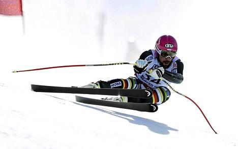 Suomen Andreas Romar kaatui torstaina.