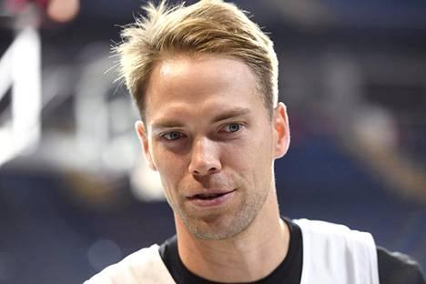 Petteri Koponen teki vain kaksi pistettä Euroliigan ottelussa.