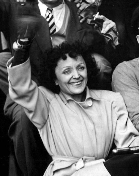 Edith Piafille ei ranskalaisten sydämissä ole löytynyt seuraajaa.