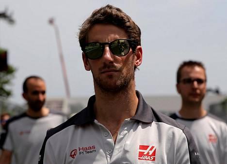 Romain Grosjean kisasi F1-sarjassa 179 osakilpailussa.