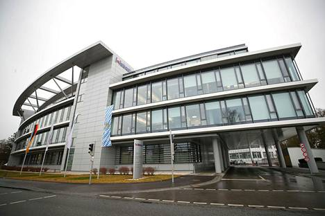 Webaston pääkonttori Stockdorfissa.