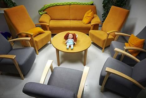 Lastensuojelun toimipiste Espoon keskuksessa kuvattiin vuonna 2016.