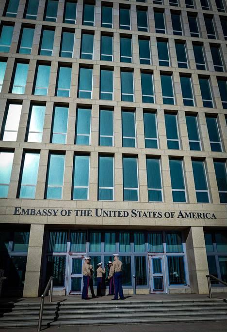 Iso osa Yhdysvaltain Kuuban-lähetystön työntekijöistä kotiutettiin mysteeriäänten ja niistä aiheutuneiden oireiden takia.