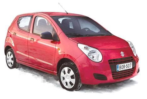 Suzuki Alto sai automaattivaihteiston