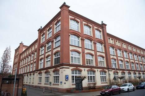 Stasin entinen rakennus Saksan Dresdenissä.