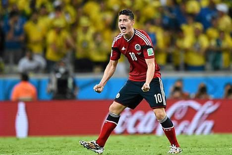 James Rodriguez oli yksi MM-kisojen suurimmista tähdistä.
