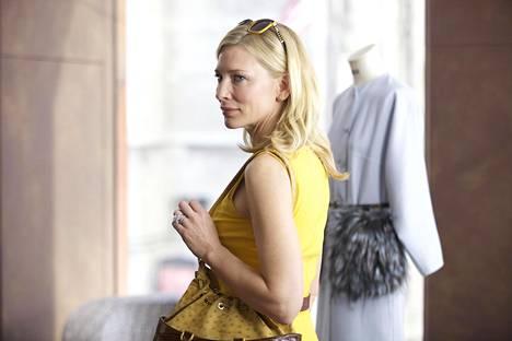 Cate Blanchett sai pääosasuorituksestaan Blue Jasmine -elokuvassa Oscarin.