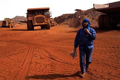 Mauritania siirtää viikonloppua parantaakseen yritystensä kilpailukykyä. Kuva on rautamalmikaivokselta Zoueraten kaupungista.