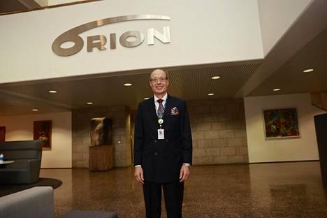 Orionin toimitusjohtaja Timo Lappalainen.