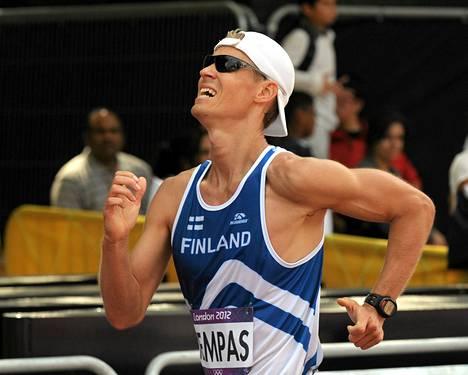 Antti Kempas oli Lontoon olympialaissa 50 kilometrin kävelyssä 40:s.