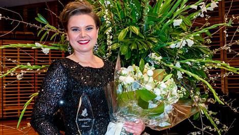 Hannakaisa Nyrönen voitti laulukilpailun Sydneyssä Australiassa.