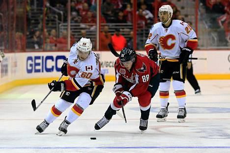 Markus Granlund (vas.) on pelannut loistavasti NHL-jäillä.