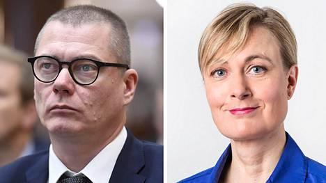 Juhani Damski ja Elina Ravantti