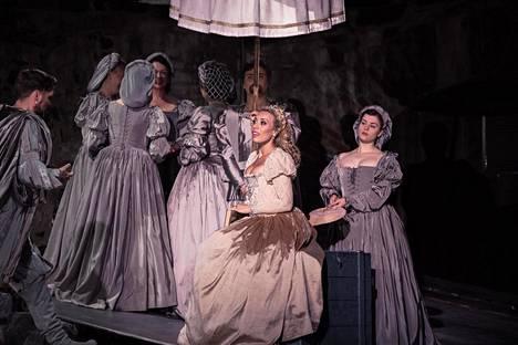 Savonlinnan oopperajuhlien Otellossa Desdemonan roolin lauloi sopraano Marina Costa-Jackson. Kuva viime kesältä.