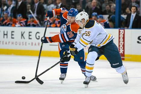 Rasmus Ristolainen on pelannut NHL:ssä 24 ottelua.