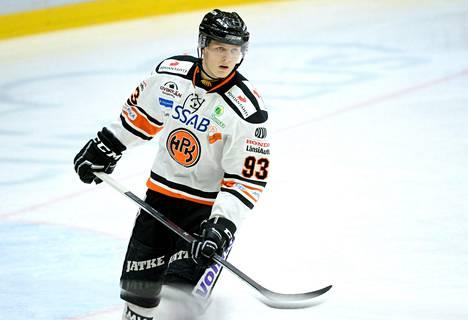 Kristian Vesalainen pelasi kuukauden vuokralla HPK:ssa.