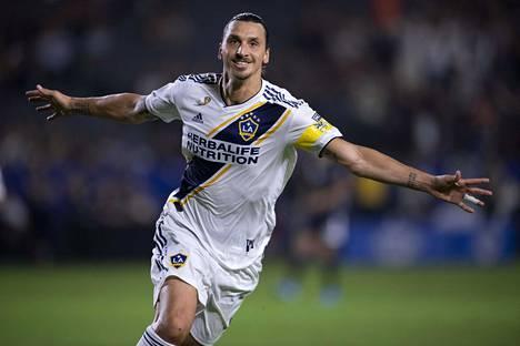 Zlatan Ibrahimović pelasi vahvan kauden Los Angeles Galaxyssa.
