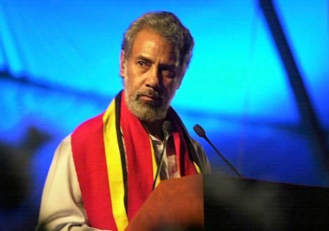 Itä-Timorin pääministeri Xanana Gusmao