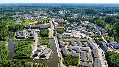 Vuosituhannen vaihteessa Kolavan postinumeroalueella Lahdessa oli noin 200 asukasta. Nyt asukkaita on jo yli 2 500. Kuva: Kalle Koponen / HS