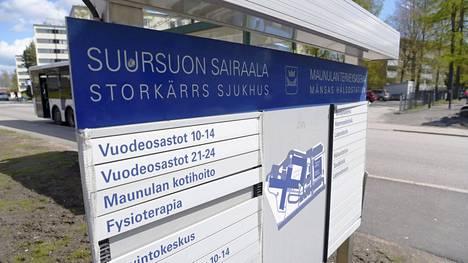 Helsingin kaupungin Suursuon sairaalassa on todettu kymmeniä koronavirustartuntoja.