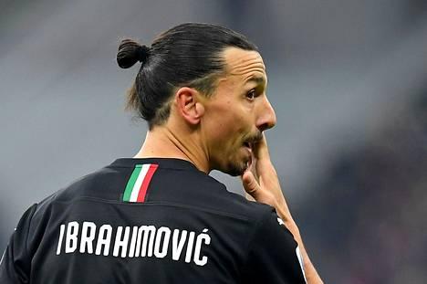 Zlatan Ibrahimović kuvattuna 6. tanmikuuta pelatussa Sampdoria-ottelussa.
