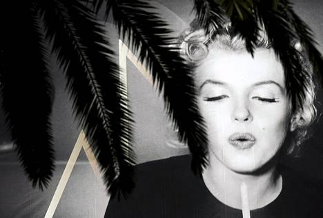 Marilyn Monroe koristi Cannesin filmifestivaalin julistetta viime keväänä.