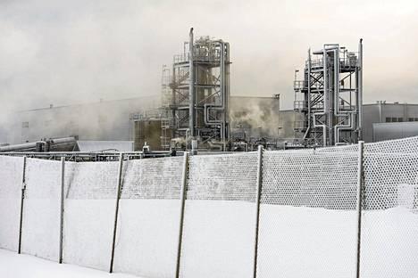 Kuvassa Talvivaaran kaivosaluetta viime vuoden marraskuussa.