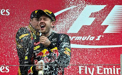 Sebastian Vettel on käytännössä varmistanut F1-mestaruuden.