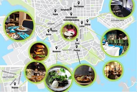 Helsingissä on tänä keväänä ja kesänä ravintolabuumi.