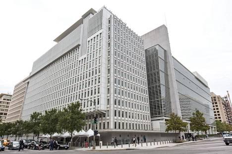 Maailmanpankin pääkonttori Washingtonissa Yhdysvalloissa.