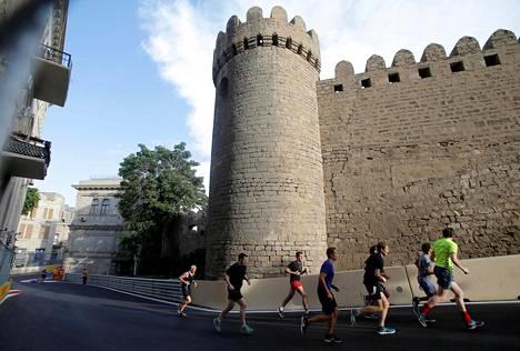 Bakun rata on myös lenkkeilijöiden mieleen.