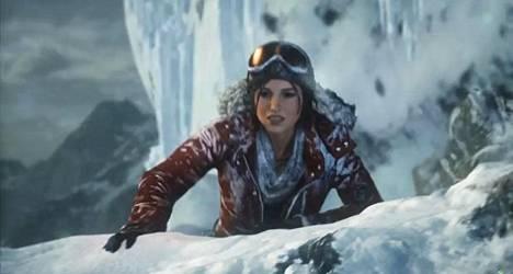 Rise of the Tomb Raider ilmestyi 10. marraskuuta Xboxille. Kuvankaappaus trailerista.