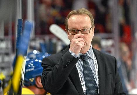 Ruotsin päävalmentajalla Pär Mårtsilla riittää pohdittavaa.