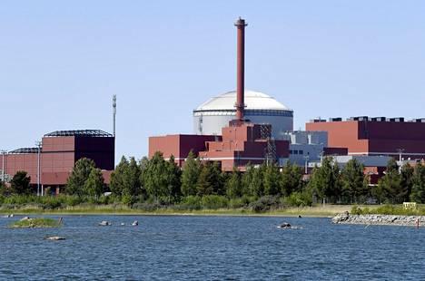 TVO:n Olkiluoto 3 -ydinvoimala toukokuussa 2018.