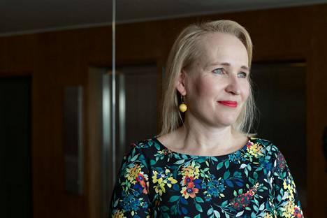 Teknologiateollisuus on yksi suurimmista työnantajaliitoista. Minna Helle aloitti sen työmarkkinajohtajana kesäkuussa 2018.