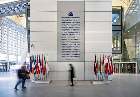 Euroopan keskuspankin päärakennus.