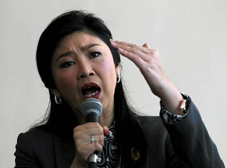 Pääministeri Yingluck Shinawatra