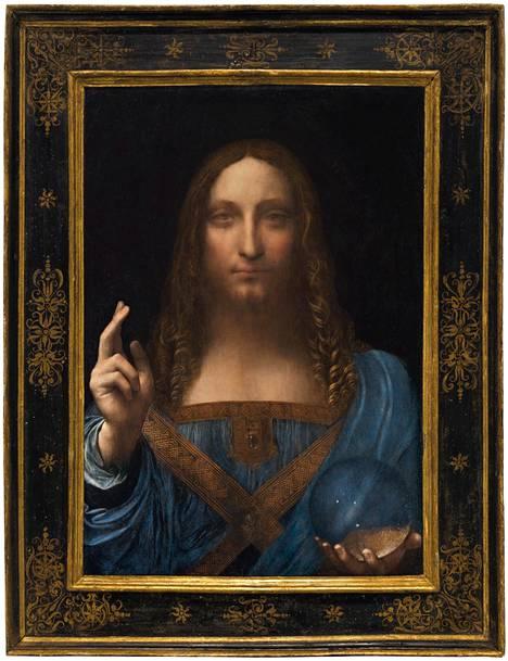 Leonardo da Vincin tai hänen työpajansa 1500-luvulla maalaama Salvator Mundi huutokaupattiin vuonna 2017 New Yorkissa 380 miljoonalla eurolla. Se on suurin koskaan taideteoksesta maksettu summa. Teoksesta on luotu nyt NFT-versio, joka on parhaillaan myynnissä.