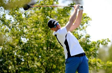 Roope Kakko voitti Finnish Tourin ensimmäisen osakilpailun Vihdissä viime kesäkuussa.