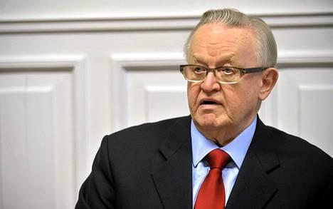 Presidentti Martti Ahtisaaren mukaan YK:n tulee lähettää lisää edustajia Syyriaan mahdollisimman nopeasti.