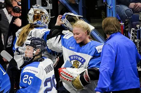 Noora Räty on naisten jääkiekkomaajoukkueen luottovahti. Vuoden 2019 MM-kotikisoissa Suomi sai hopeaa.
