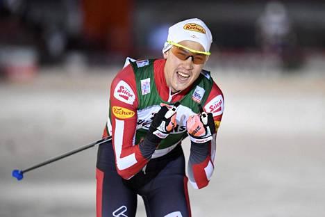 Mario Seidl aloitti maailmancupin voitokkaasti Rikalla.