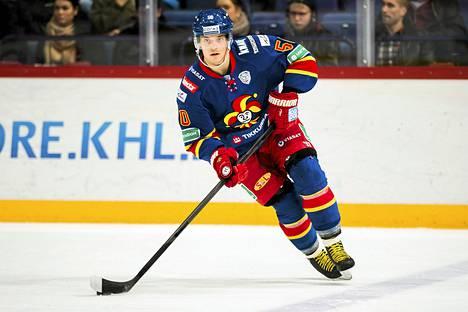 Jokereiden Juhamatti Aaltonen on mukana maajoukkueessa Ruotsia vastaan.