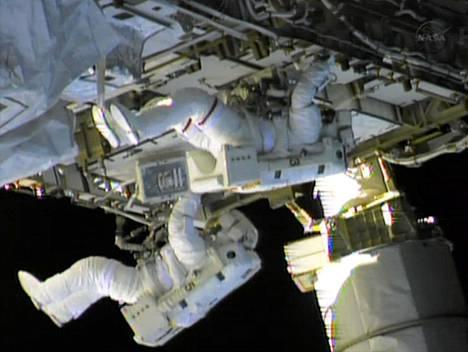 Astronautit korjasivat viikonloppuna ammoniakkivuotoa, joka kansainvälisellä avaruusasemalla havaittiin viime viikolla.