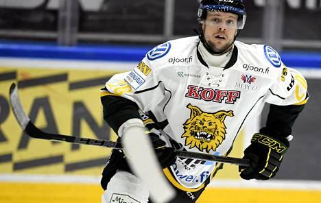 Blake Kessel pelasi hyvin HIFK:ta vastaan tiistaina.