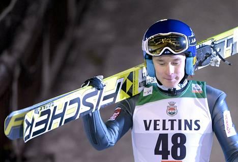 Jarkko Määttä oli Garmischissa paras suomalainen.